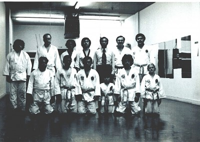 November 1975, Grandmaster Kang at age 13, running his first school