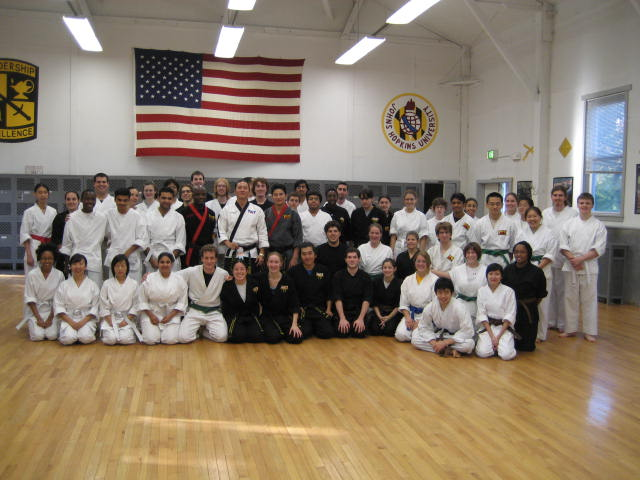 Johns Hopkins University Taekwondo Club