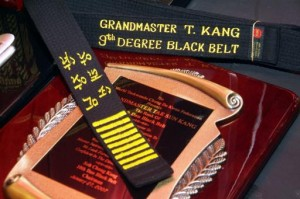 9th dan belt