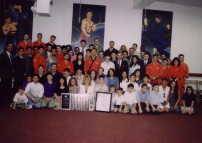 June 1994, Grandmaster receives his 8th Dan